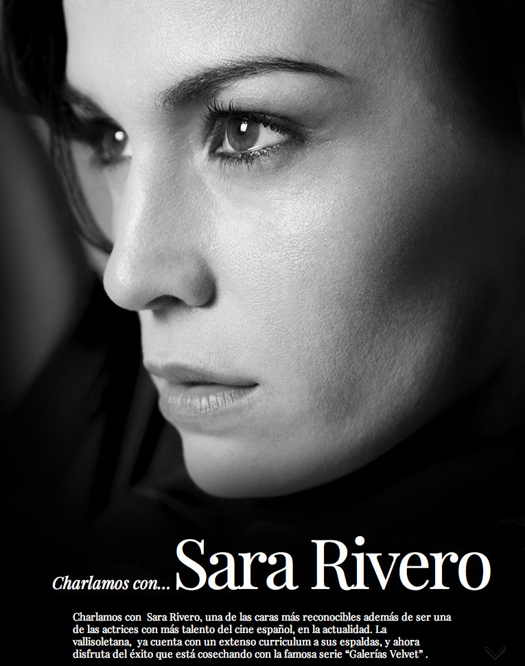 A chat with Sara Rivero