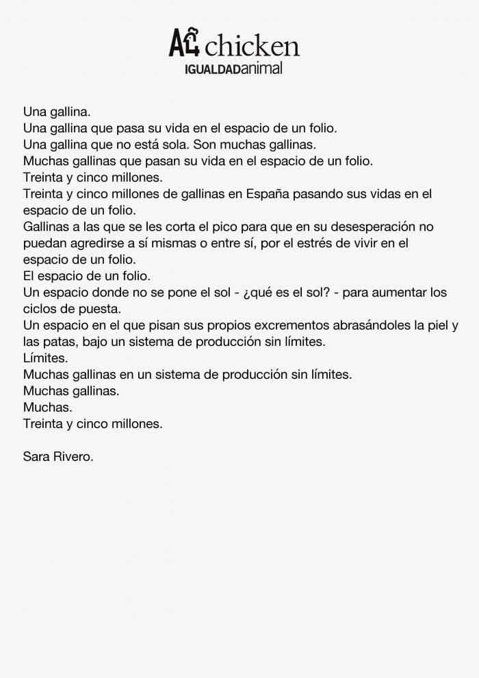 A4Chiken_SaraRivero_Texto